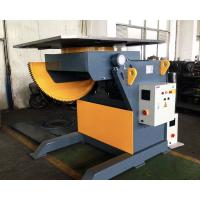China 2T Capacity Welding Positioner With 1200mm Square Table / Tilting Speed Digital Readout on sale
