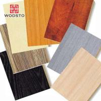 Quality wood texture flooring of wooden cement board for sale