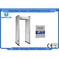 China 6 Zones Archway Metal Detector Door Frame Walk Through Scanner For Hotel on sale