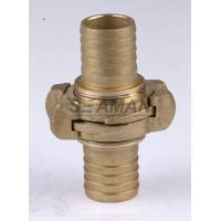 "Quality Firemans Hose Nozzle Nakajima 1.5"" / 2"" / 2.5""  Brass Fire Hose Coupling Connector for sale"