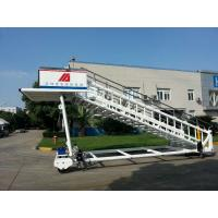Portable Airplane Steps Ladder Diesel Driven 2300 To 3600 Mm Height