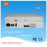 Buy cheap Desktop/4u Rack mount (LAN-AC220V-75BNC), 4E1-FE fiber media converter from wholesalers