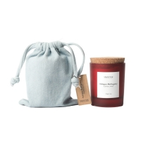 Quality Cork Lid Soy Wax Scented Jar Candle for sale
