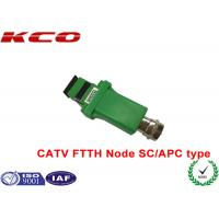 Best SC/APC to RF Analog signal 1550nm optic fiber CATV FTTH receiver optical node wholesale