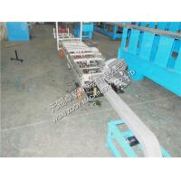 Quality Moveable Square downspout machine , 3KW sheet metal roll forming machines for sale