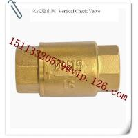 China Plastics Auxiliary Machinery's Vertical Check Valve Supplier