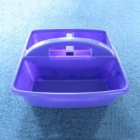 Fine Plastic Shower Caddy With Handle Best Durable Bath Intended Design Decorating