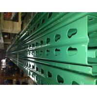 Quality Certificated Industrial Teardrop Pallet Rack Uprights For Storage Sporting Goods for sale