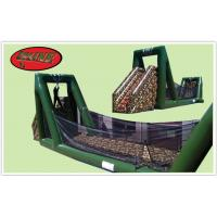 China Zip Line Inflatable Military Obstacle Course For Children Park Games on sale