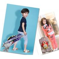 Quality Boys Lovely Kids Hard Case Luggage EVA Material Black / Red / Blue Color for sale