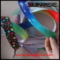 Quality 2015 high quality YKK #5 TPU open end nyon coil colorful printing tape waterproof zippers for sale