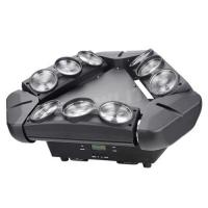 Quality 9*10W RGBW Spider LED Beam Moving Head Light LED BAR DJ disco Effect Light for sale
