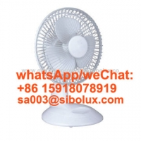 Quality 6 inch electric plastic table fan/Ventilador for office and home appliances kids gift in summer for sale