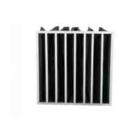 Quality Multi Pocket Activated Carbon Air Filter Bag Structure For Air Filtration for sale