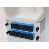 Best 1x16  LGX Box Cassette  Inserting PLC Splitter ,  16 Ports Fiber Optical PLC Splitter wholesale