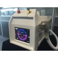 Quality Tattoo Removal Q-Switched ND YAG Laser Pigment Removal 1 Xenon Lamp 2 Bars for sale