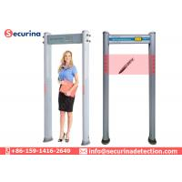 Quality Visual Alarms Walkthrough Metal Detector , Airport Security Metal Detector Super Sensitivity for sale