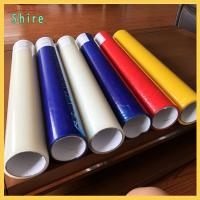 China Different Color Plastic Panel PE temporary Protective Film Glue Adhesive Tapes on sale