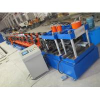 Quality Standard C100-300 C Purlin Cold Roll Forming Machine With Post Punching And Cutting for sale