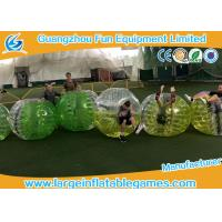 China 2017 popular sport games inflatable bubble ball / bubble soccer / bumper ballz on sale