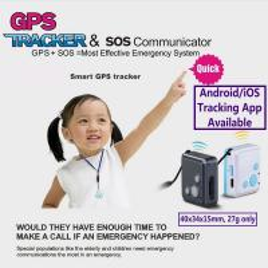 Quality Mini GSM GPS Tracker Child Kids Elderly SOS Emergent Help Communicator Sender W/ Microphone Speaker for 2-Way Phone Talk for sale