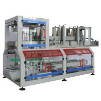 Quality Automatic Top Load Bottle Case Packer Machines 3KW Power For Round Bottles for sale