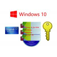 Quality Original Ms Win 10 Pro Korean Lifetime Legal Using 1 Year Stock Warranty Online Activation for sale