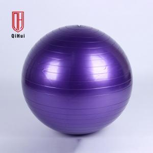 China Exercise 900g Matte Inflatable PVC 65cm Yoga Massage Ball on sale