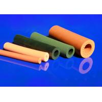 Quality Insulation Silicone Foam Tube Excellent Tensile Strength Cloth Marks Sheet Surface for sale