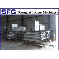 Quality High Concentration Sludge Belt Press Machine Rotary Drum Stainless Steel 304 for sale