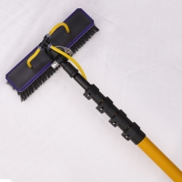 Buy cheap 3k heavy duty carbon fiber telescopic cleaning poles from wholesalers