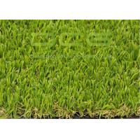 Quality Olive Shape Custom Realistic Artificial Grass With Natural Looking Forver Green for sale