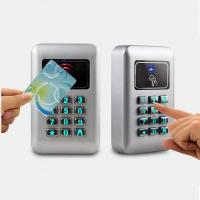 Quality New Design metal outdoor access control with keypad unlock by password or swipe card ID card for sale