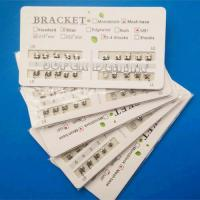 Quality Orthodontic Metal Bracket 80 Mesh Base Edgewise ROTH MBT 0.018 0.022 for sale