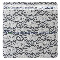 Quality Thick Brushed Bridal Lace Cotton Nylon Fabric For Lady Winter Dress for sale