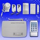 Quality AC Power Remote Control Auto House Burglar SMS EGSM900 Wireless / Wired GSM Alarm Systems for sale