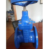 "Quality Cast Iron Non Rising Stem Gate Valve , Flanged Wedge Disc Gate Valve 2"" 4"" for sale"