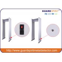 Quality 6zone walk through metal detector arch way metal detector metal craft for airport railway station for sale