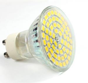 Quality Aluminum glass led spot light GU10 AC85-265V E27 bulb 60pcs SMD2835 new down indoor lamp for sale