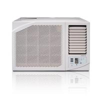 Quality 18000btu R410a window aircon mechanical control cooling only remote control for sale