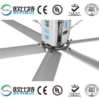 Quality OPT 24ft big size  industrial HVLS fans with big air circulation and comfortable feeling for factory using for sale