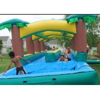 China Attractive  Adult Inflatable Slip N Slide With Pool Fireproof 3 Years Warrenty on sale
