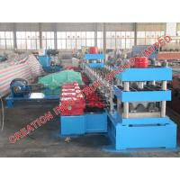 Quality Speedway Guard Rail Sheet Metal Roll Former Roll Forming Line With Mitsubishi PLC Control for sale