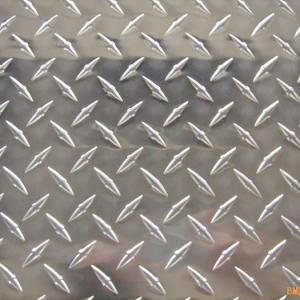 Quality 5.0mm Aluminum Diamond Plate Sheet 5754 Aluminum Checker Plate for sale