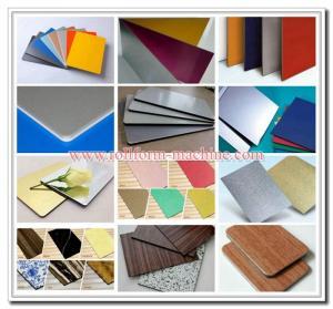 Quality ACM ACP for Aluminium Curtain Wall, Aluminum Composite Panel of Wooden Grain Model for sale