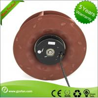 Quality Backward Inclined Industrial Blower Fans / DC Centrifugal Blower PA66 Material for sale