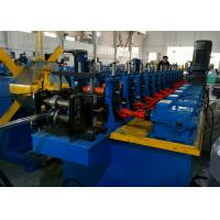 Quality Diagonal Bracing Section Roll Forming Machine; Warehouse Rack C Bracing Rollformer for sale