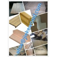 Quality sell  red oak stair culomn solid wood stair specification for sale