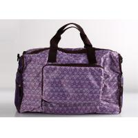 Quality Foldable Sports Polyester Ladies Travel Bags For Travel And Weekend for sale