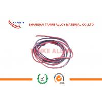 Best Teflon Insulated And Jacked Thermocouple Cable With ANSI Color Type k j e r t Used For Thermocouple Sensor wholesale